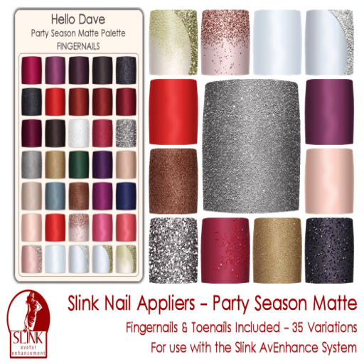 Party Season Matte ad